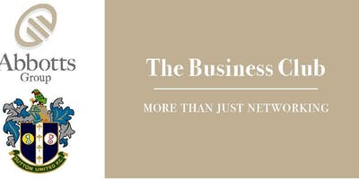 Sutton United Business Club - November Networking Event