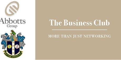 Sutton United Business Club - November Networking Event tickets
