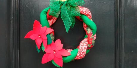 Christmas Wreath Sewing Workshop  tickets