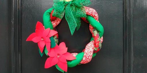 Christmas Wreath Sewing Workshop