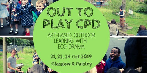 Out to Play outdoor learning morning CPD session - 24th October 2019