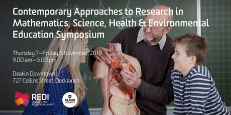 Contemporary Approaches to Research in Mathematics, Science, Health & Environmental Education Symposium tickets