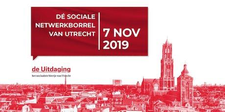 5 jaar de Utrechtse Uitdaging - jubileum editie de Uitdaging borrel tickets