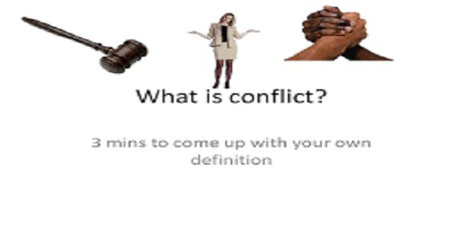 Training Course on Conflict Management and Peace building