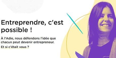 """Atelier """"Comment créer son entreprise"""" billets"""