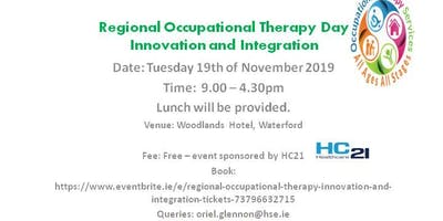 Regional Occupational Therapy Innovation and Integration