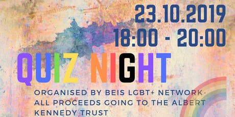 BEIS LGBT+ network presents QUIZ NIGHT tickets