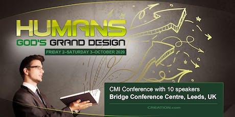 Humans God's Grand Design, on  Fri 2nd & Sat 3rd Oct tickets