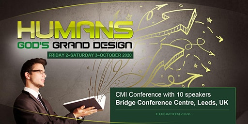 Humans God's Grand Design, on      Fri 2nd & Sat 3rd Oct