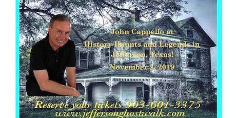 Jefferson History Haunts and Legends tickets