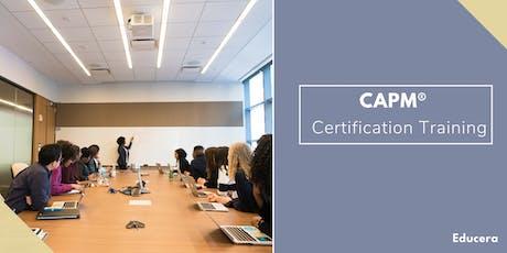 CAPM Certification Training in  Saint John, NB tickets