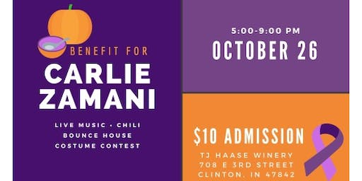 Fall Festivities - Benefit for Carlie Zamani and Family