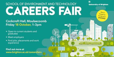 School of Environment and Technology Careers Fair