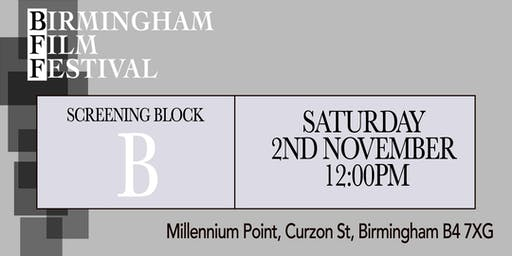 BIRMINGHAM FILM FESTIVAL - Screening Block B