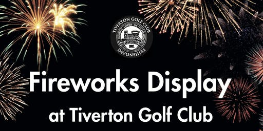 Fireworks Display at TGC