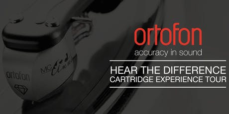 Ortofon Cartridge Experience Tour at Music Matters Birmingham tickets