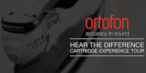 Ortofon Cartridge Experience Tour at Music Matters Birmingham