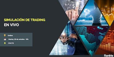 [ONLINE] Simulación de trading en vivo entradas