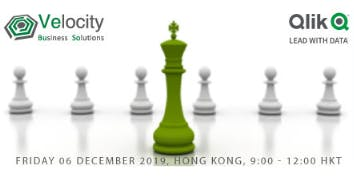 Qlik Sense Data Visualization Workshop (06 December 2019)