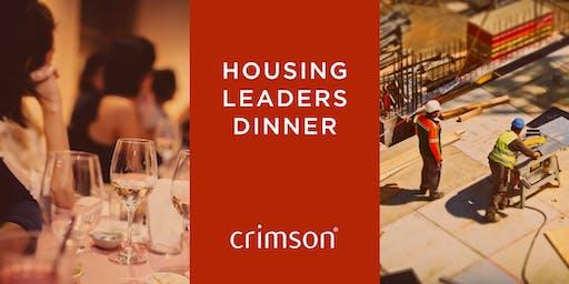 Housing Leaders Dinner