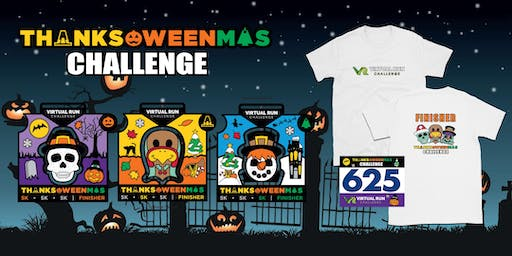 2019 - Thanks-Oween-Mas Virtual 5k Challenge - Norfolk