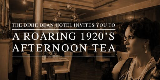 1920's Gatsby Afternoon Tea