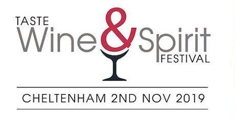 Copy of Taste Wine & Spirit Festival Session 2 tickets