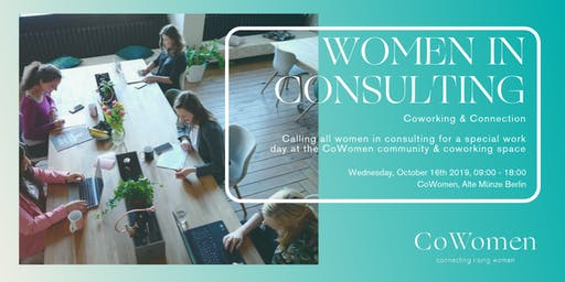 Women in Consulting Day at CoWomen