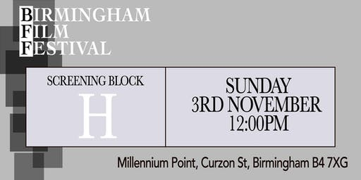 BIRMINGHAM FILM FESTIVAL - Screening Block H