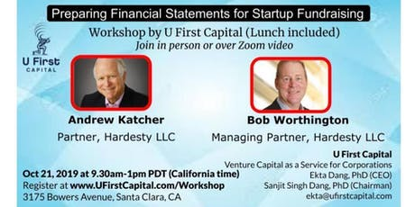 Workshop: Preparing Financial Statements for Startup Fundraising tickets