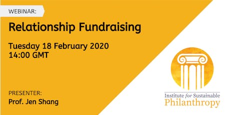 Webinar - Relationship Fundraising tickets