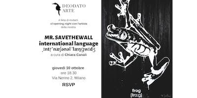 Mr.Savethewall: International Language