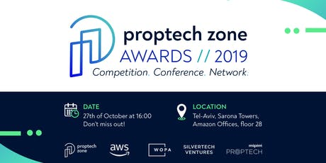PROPTECH ZONE AWARDS® 2019 tickets