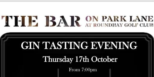 An Evening of Gin Tasting @ The Bar on Park Lane