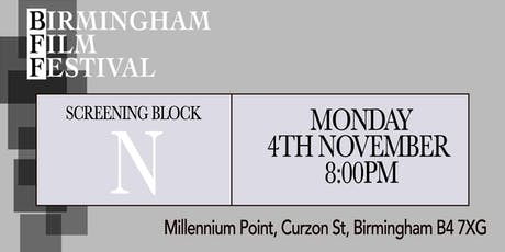 BIRMINGHAM FILM FESTIVAL - Screening Block N tickets
