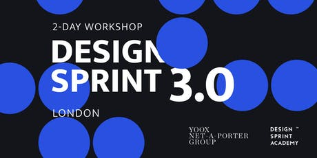 Design Sprint 3.0 - London tickets