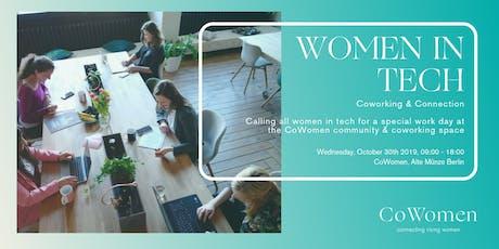 Women in Tech Day at CoWomen Tickets