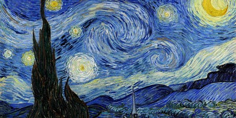 Paint Starry Night + Wine! Oxford Launch Event! tickets