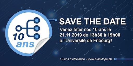 e-sculape fête ses 10 ans - Event du 21 novembre 2019