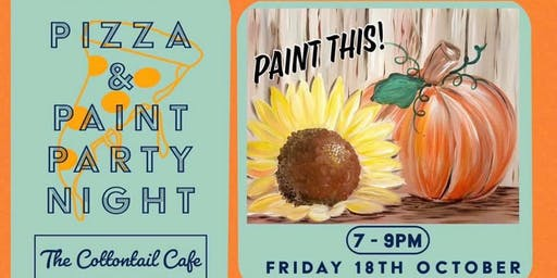 Autumn Pizza & Paint event