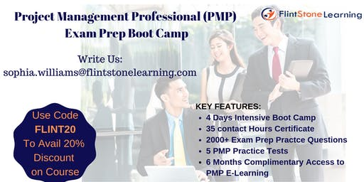 PMP training and credentials in four days in Rochester, NY
