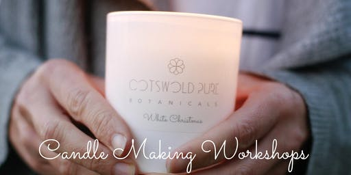 Christmas Candle Making Workshop December 13th 2019