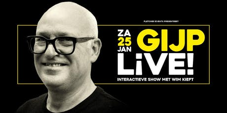GIJP LIVE! in Berg en Dal (Gelderland) 25-01-2020 tickets