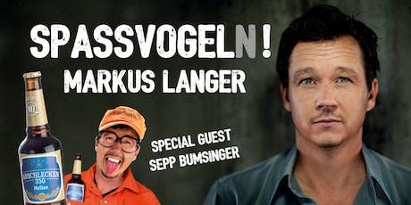 Markus Langer - Spaßvogel(n)! Tickets