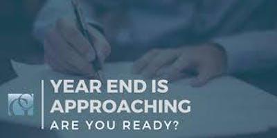 In Spanish! En Español!  End of Year Business Preparation