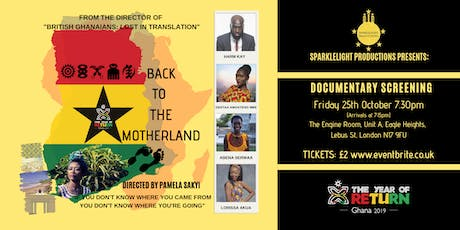 Back To The Motherland Documentary Screening tickets