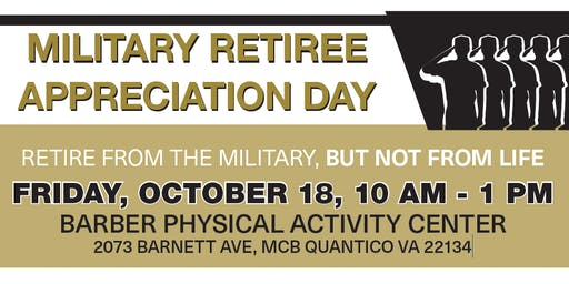 Military Retiree Appreciation Day 2019