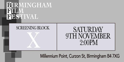 BIRMINGHAM FILM FESTIVAL - Screening Block X