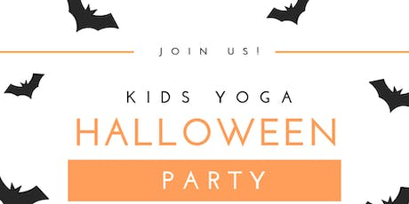 Halloween Yoga Kids Party tickets