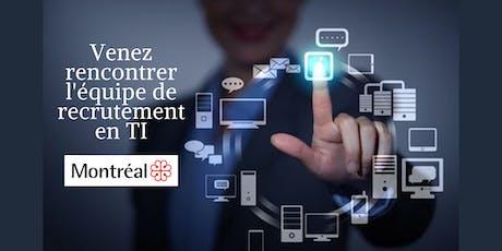 Entrevues éclair TI Ville de Montréal | 22 octobre 2019 billets